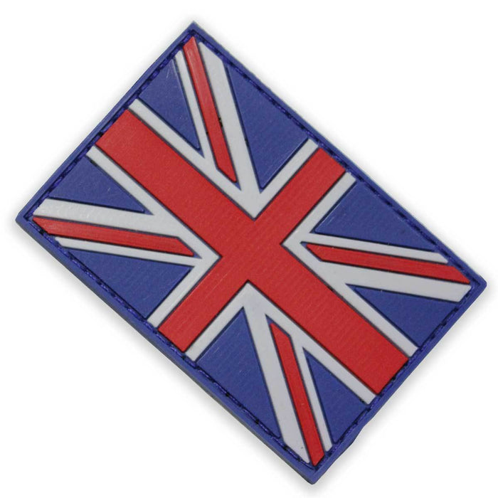 3D PVC British Union Jack Patch - Bulldog Tactical Gear