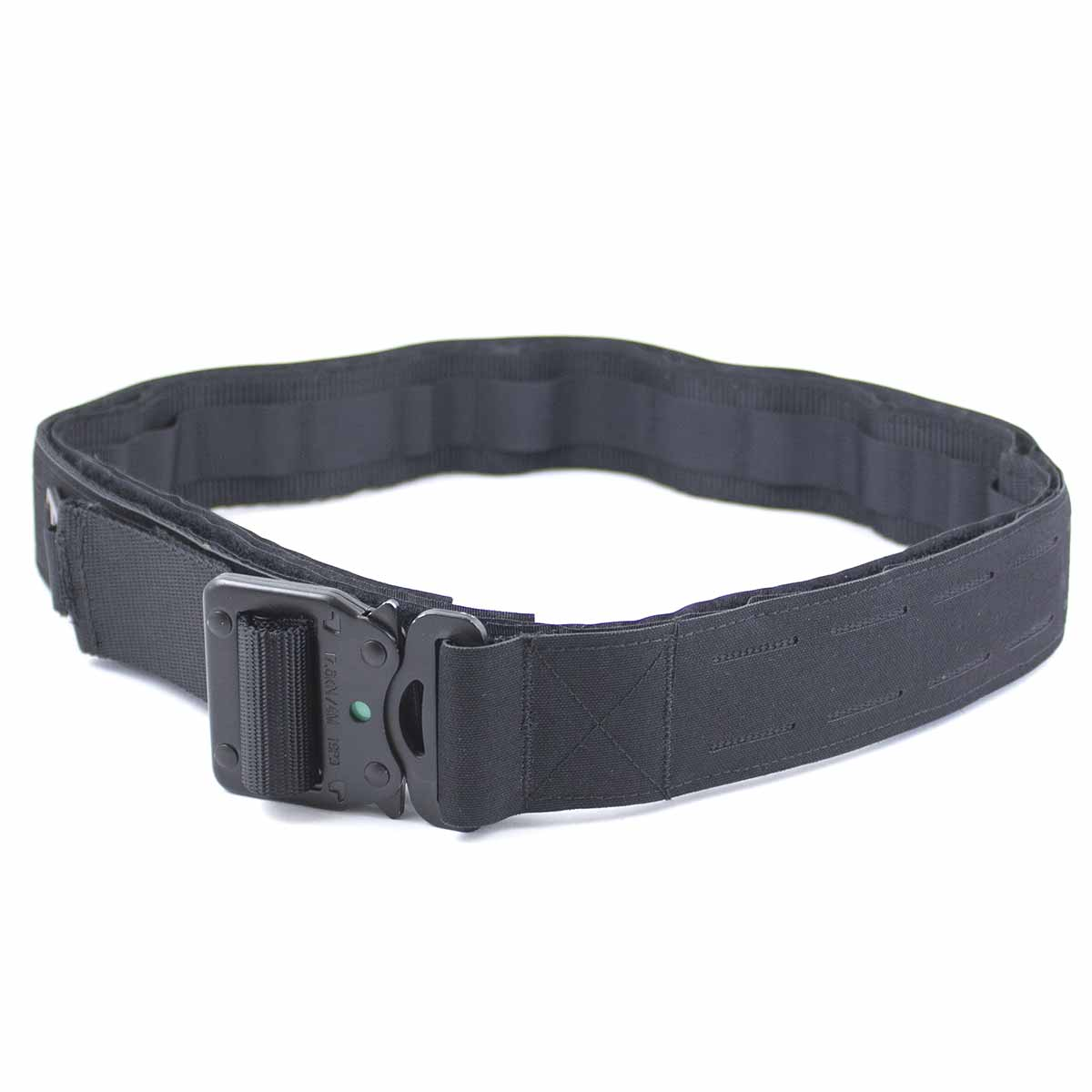 Laser Double Shooters Belt Black | Bulldog Tactical Gear
