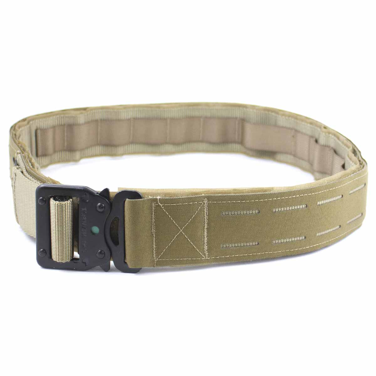 Laser Double Shooters Belt Coyote | Bulldog Tactical Gear