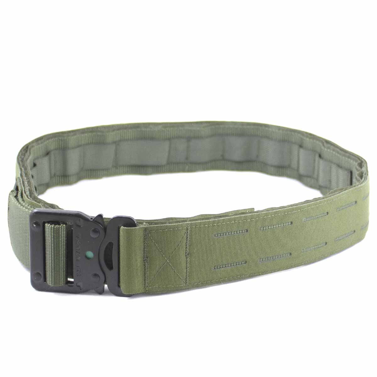 Laser Double Shooters Belt Olive Green | Bulldog Tactical Gear