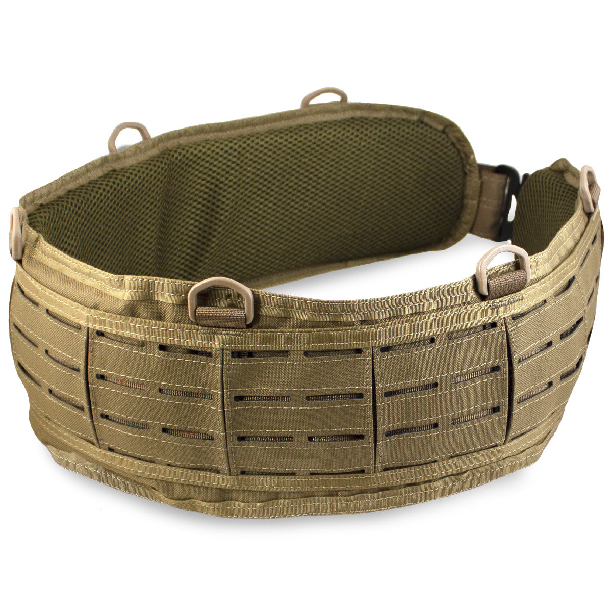 MK3 Padded MOLLE Belt Coyote | Bulldog Tactical Gear