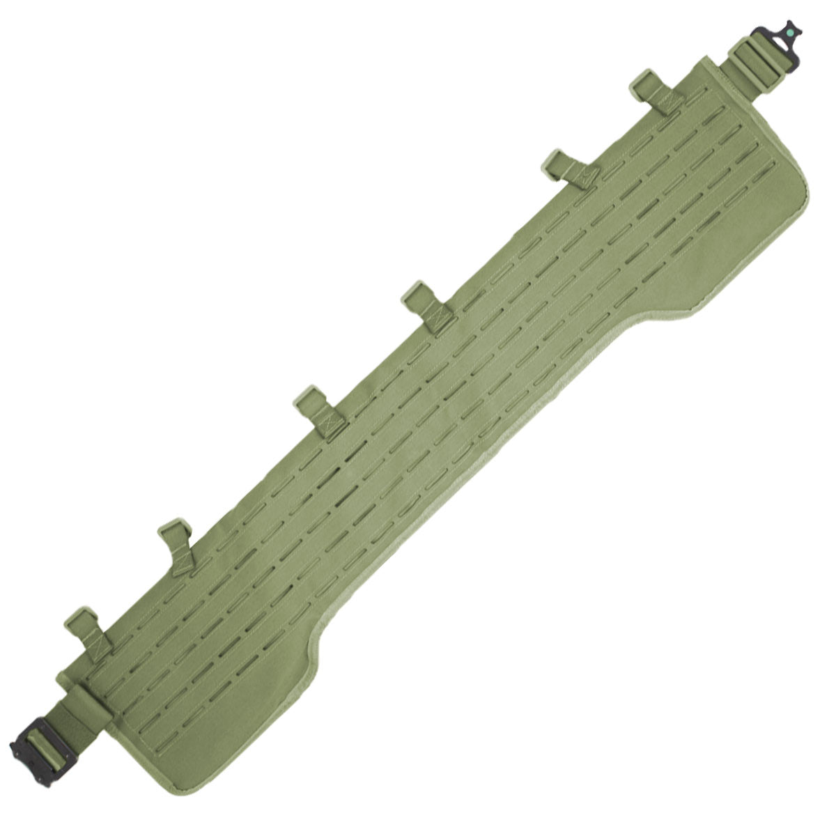 MK3 Lightweight MOLLE Belt Green | Bulldog Tactical Gear