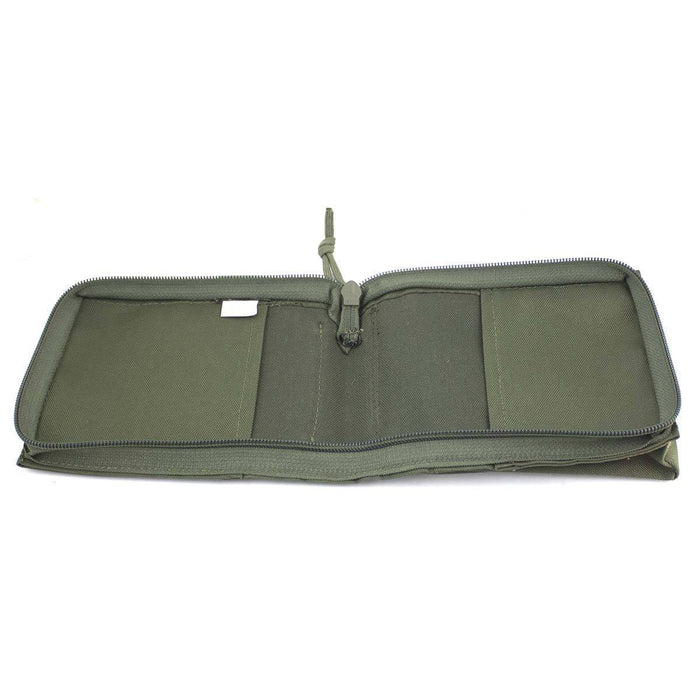Bulldog A6 Notebook Holder Olive Green | Bulldog Tactical Gear