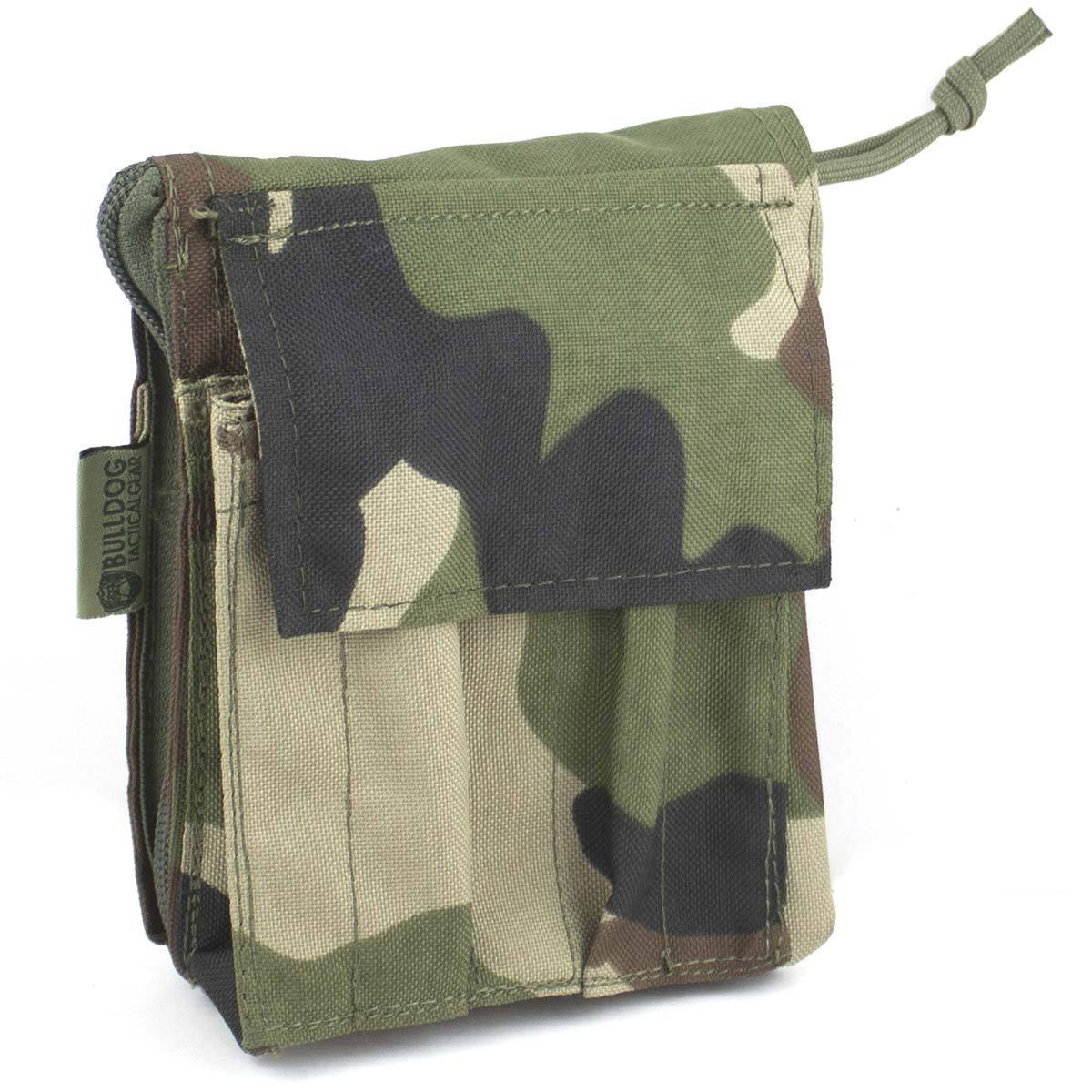 Bulldog A6 Notebook Holder CCE Woodland | Bulldog Tactical Gear