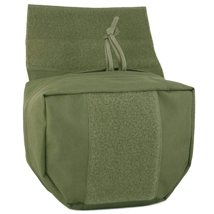 Bulldog Drop-Box Utility Pouch Green | Bulldog Tactical Gear