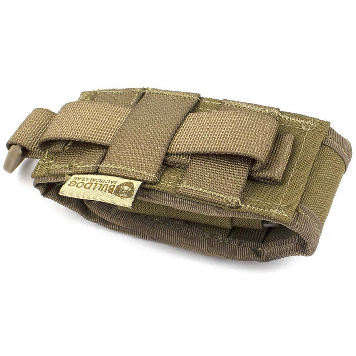 Bulldog Folding Knife Tool Pouch Coyote | Bulldog Tactical Gear