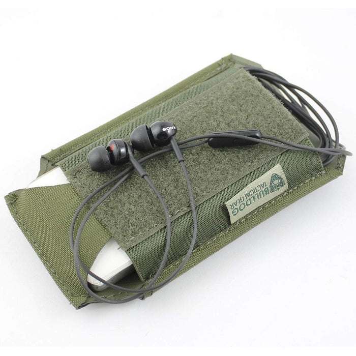 Bulldog Large 1x1 Elastic Adapt Pouch with iPod Green | Bulldog Tactical Gear
