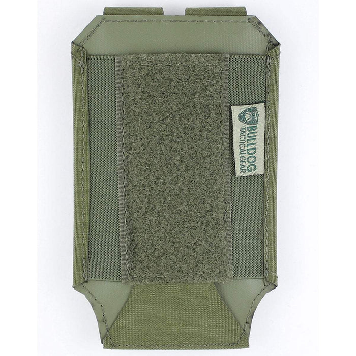 Bulldog Large 1x1 Elastic Adapt Pouch Green | Bulldog Tactical Gear