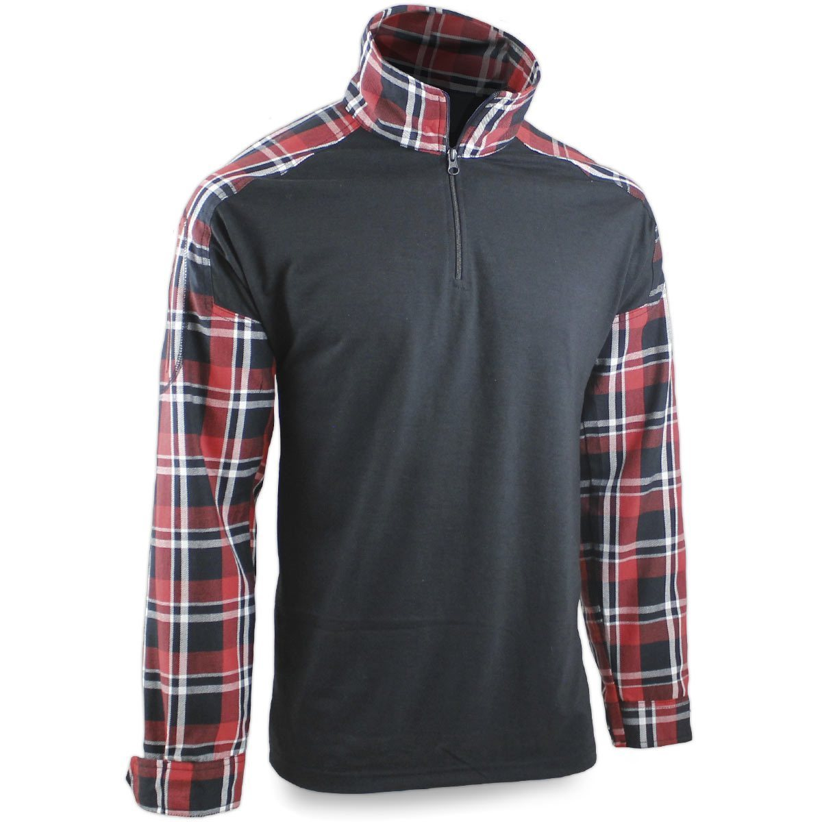 Bulldog LumberTac Combat Shirt Red/Black | Bulldog Tactical Gear