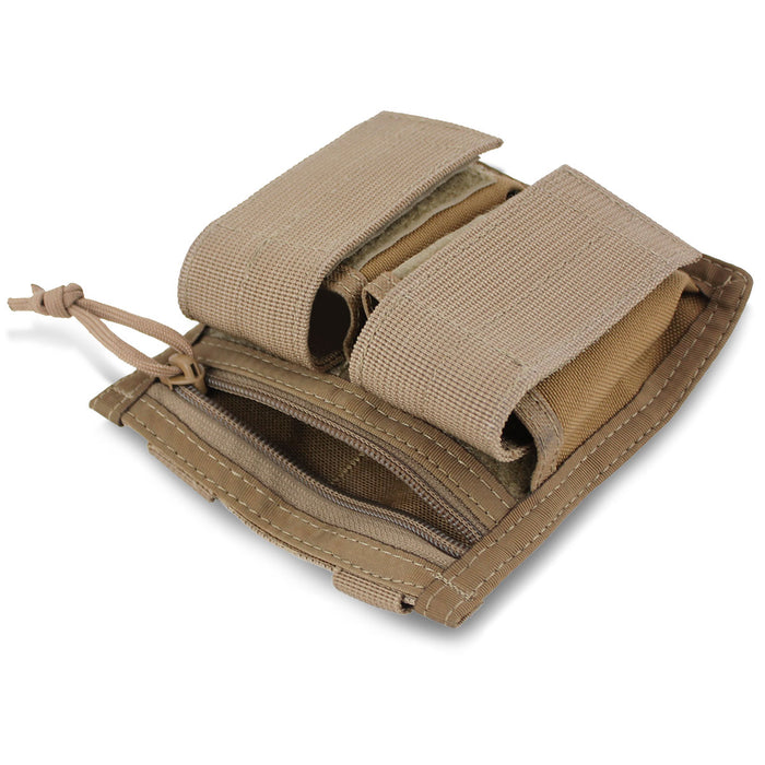 MOLLE Double 40mm Grenade Pouch - Bulldog Tactical Gear
