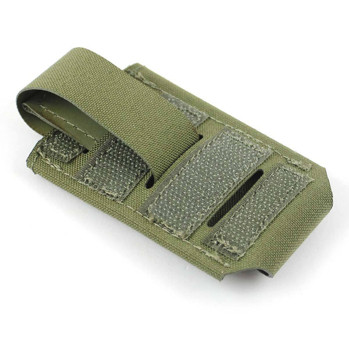 Bulldog Small 1x1 Elastic Adapt Pouch Green | Bulldog Tactical Gear