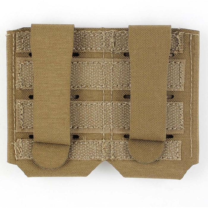 Bulldog Small 2x1 Elastic Adapt Pouch Coyote | Bulldog Tactical Gear