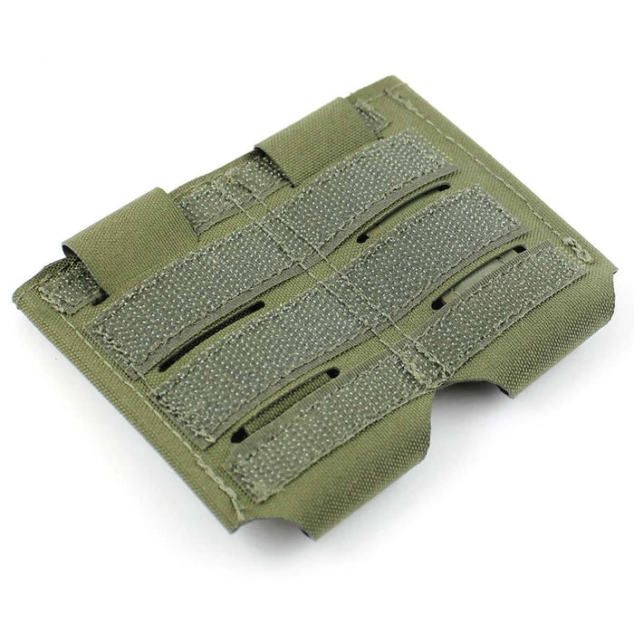 Bulldog Small 2x1 Elastic Adapt Pouch Green | Bulldog Tactical Gear