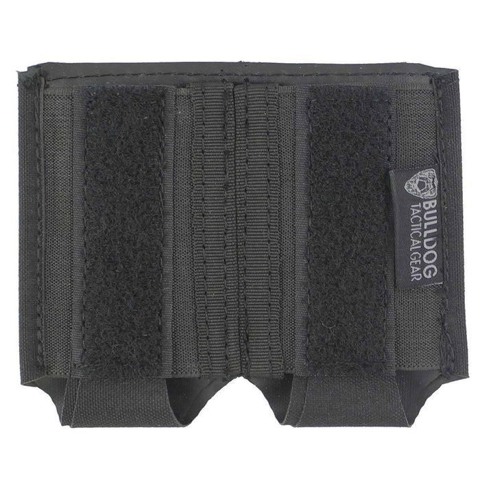 Bulldog Small 2x1 Elastic Adapt Pouch Black | Bulldog Tactical Gear