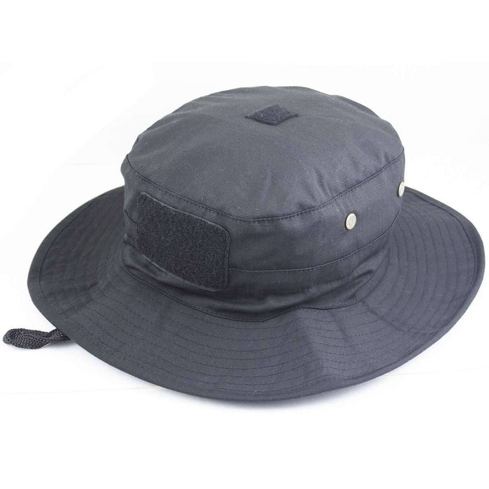 Bulldog Tactical Boonie Hat Black | Bulldog Tactical Gear