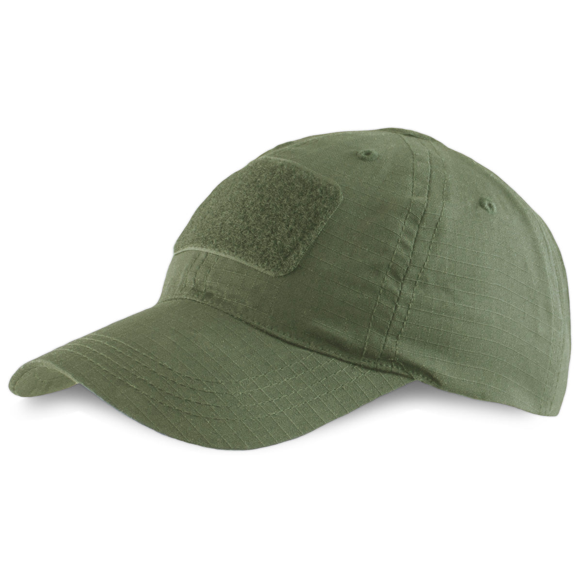 Tactical Patch Strap Back Cap Green - Bulldog Tactical Gear