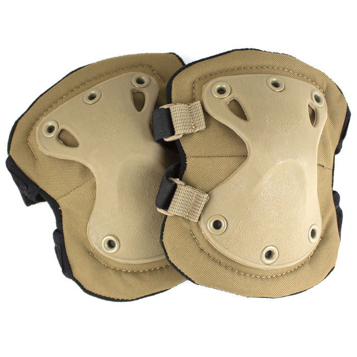 Elite X Tactical Elbow Pads Coyote | Bulldog Tactical Gear