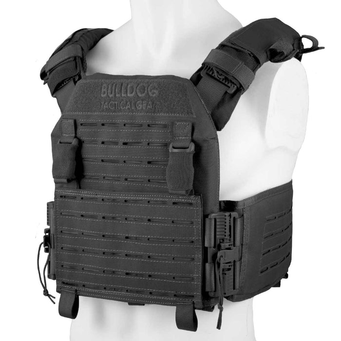 QR Kinetic Armour Carrier Black | Bulldog Tactical Gear