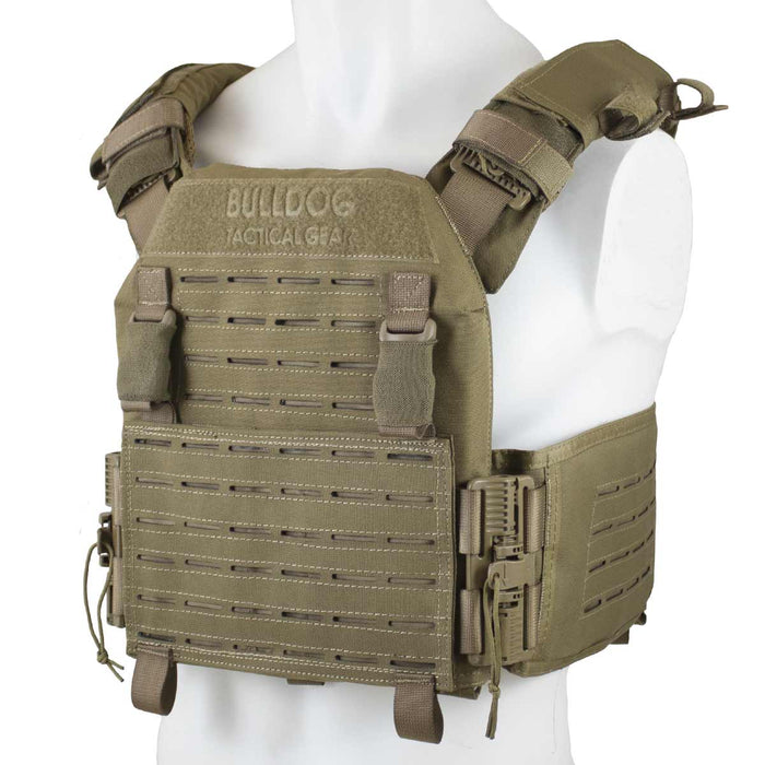 QR Kinetic Armour Carrier Coyote | Bulldog Tactical Gear