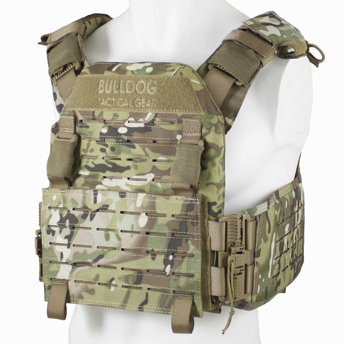 QR Kinetic Armour Carrier MTC Camo | Bulldog Tactical Gear