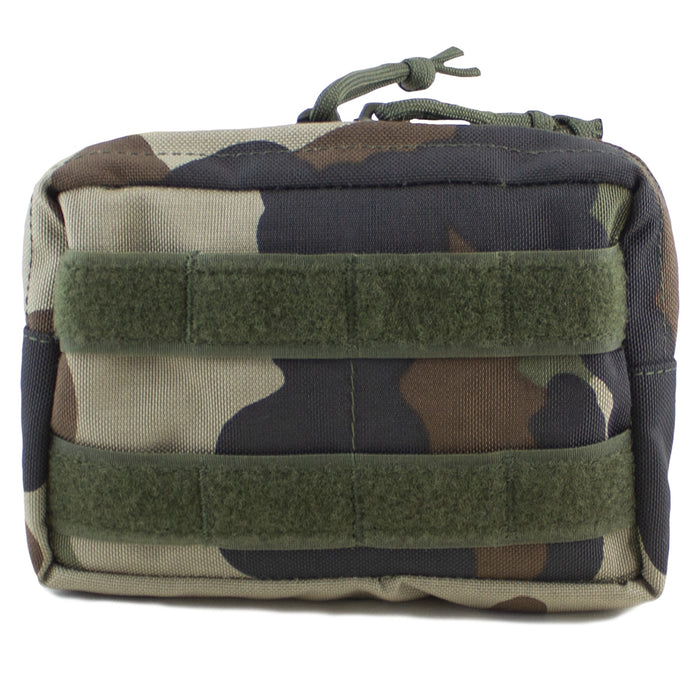 MOLLE Medium Horizontal Utility Pouch CCE Woodland - Bulldog Tactical Gear