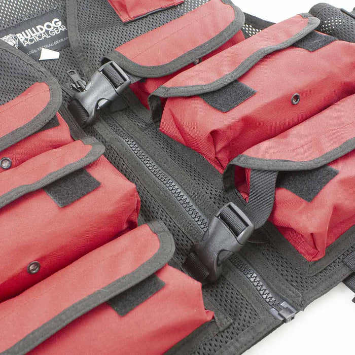 Red Rescue Vest | Bulldog Tactical Gear