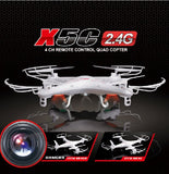 Cheapest Price!  Hot Selling Syma X5C X5C-1 2.4G RC Helicopter 6-Axis Quadcopter Drone With Camera
