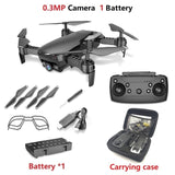 Teeggi M69 FPV RC Drone with 4K/1080P Wide-angle WiFi Camera HD Foldable RC Quadcopter Helicopter
