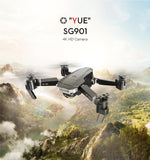 ZLL 2019 New SG901 Camera Drone 4K HD Dual Camera Drones Follow Me Quadcopter FPV Professional GPS Long Battery Life