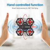RH817 RC Quadcopter Gesture Sensing Quadcopter 2.4GHz RC Drone Height Hold Headless Mode 3D Flip Design RC Toy Gift for Kids