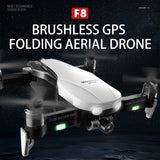 F8 GPS Drone with Two-axis anti-shake Self-stabilizing gimbal Wifi FPV 1080P 4K Camera Brushless Quadcopter