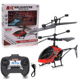 Remote control Mini RC Infrared Induction Remote Control RC Toy 2CH Gyro Helicopter RC Drone Radio controlled machines