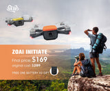 ZOAI INITIATE Drone with camera GPS MINI RC Quadcopter FPV 1080P HD 5G WIFI Brushless Motors Return Home  Pocket Aerial camera