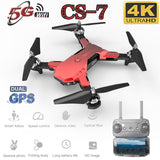 2019 New CS7 5G Quadcopter Drone GPS With 4K Camera Wifi Fpv Foldable Quadcopter RC Drone Highly Stable Hover Helicopter