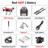 RC Quadcopter S32T Drone 4K HD ESC Wide Angle Camera WIFI FPV Altitude Holding Selfie Drones Professional 25min Flight Time