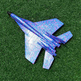 Diy Kids Toys Hand Throwing Model Airplane Foam Aircraft Stunt Luminous Education Epp Glider Fighter Planes Toys For Children
