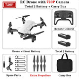 R7 RC Drone 4K HD Camera  Foldable Professional Selfie Quadrocopter with WIFI FPV Camerra Mini Drone Helicopter Toy for Kids