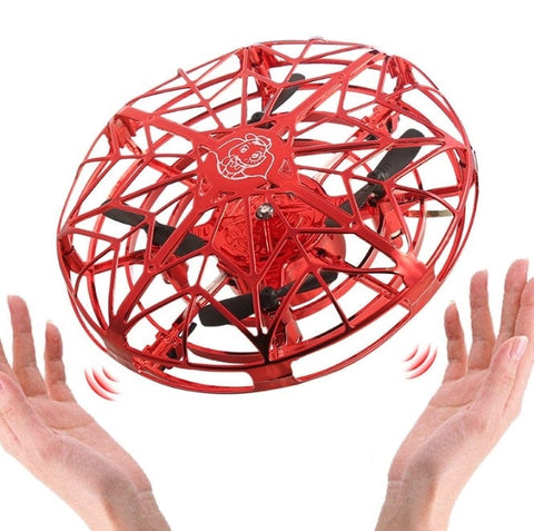 Anti-collision Flying UFO Helicopter Magic Hand UFO Flying Ball Aircraft Sensing Mini RC Drone UFO Induction Aircraft Helicopter
