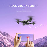 AHOHA RC Quadcopter 4K /1080P HD Camera Drone WiFi FPV Drone Optical Flow Positioning Dron Altitude Hold Quadrocopter Helicoper