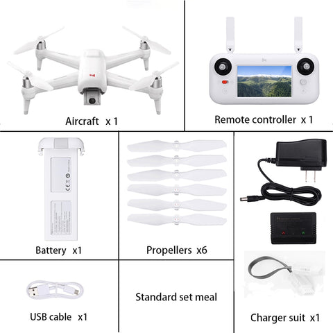 In Stock Xiaomi FIMI A3 5.8G GPS Drone 1KM FPV 25 Minutes With 2-axis Gimbal 1080P Camera RC Quadcopter RTF Follow Me