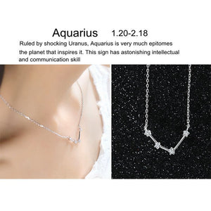 Zodiac Constellations Guardian Necklace