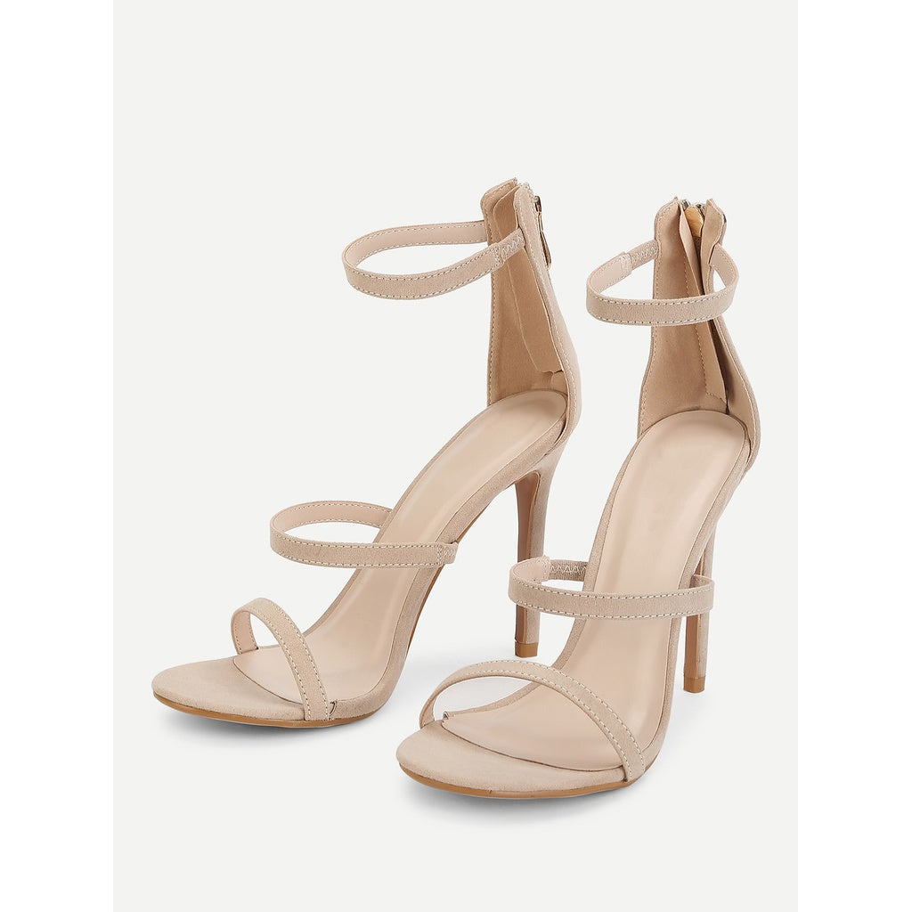 Stiletto Ankle Strap Sandals
