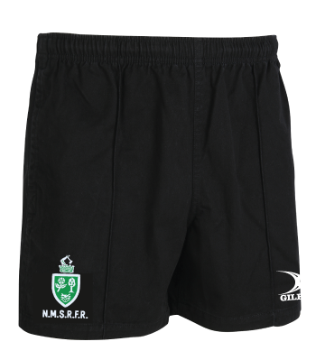 North Midlands Referees GILBERT Rugby Shorts - Black