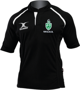 North Midlands Referees GILBERT Rugby Shirt - Black