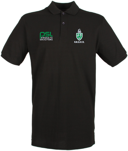 North Midlands Referees Black Polo Shirt
