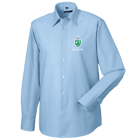 North Midlands Referees Dress Shirt - Blue