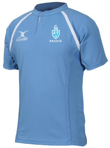 North Midlands Referees GILBERT Rugby Shirt - Sky