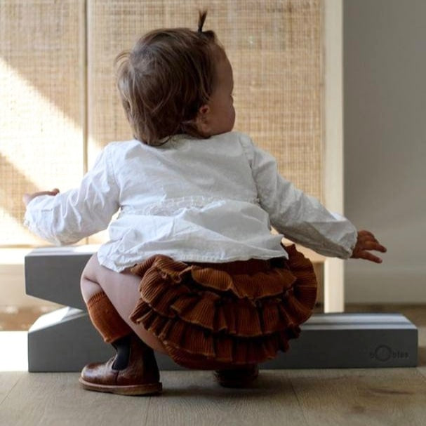 'Ruffly' Bloomers | Camel