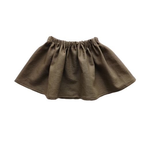 Simple Skirt | Chocolate