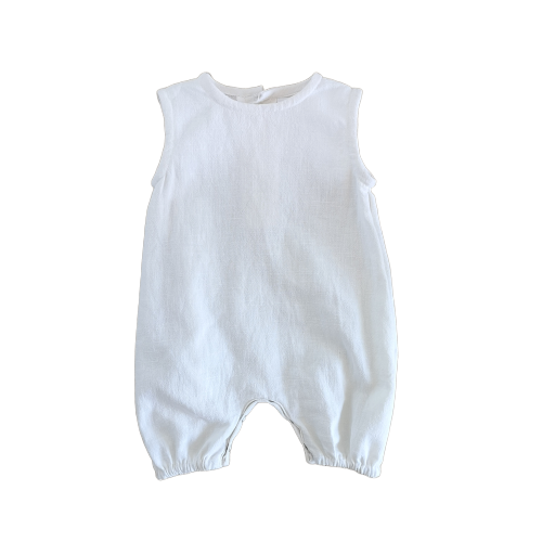 'Beach' Romper | Milk